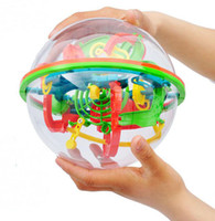 ball brain teaser - Steps A Ball Small amp Big Size Educational Magic Intellect Ball Cubes Marble Puzzle Brain Teaser Game Perplexus
