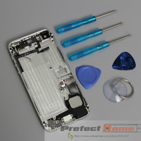 Wholesale Best quality For Apple iPhone G Back Cover Full Housing Assembly With Flex and Button with tools