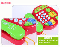 baby making music - Made In China Children Phones Hot Sale Electronic High Quality Game Baby Telephone Toy Mobile Music Puzzle Toy