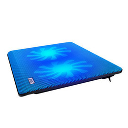 Wholesale-Portable ventilateur stand for laptop cooler notebook stand laptop cooling pad ventilador usb cooler fan super cooler 2 fans