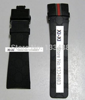 Wholesale YA114207 YA114401 watch strap mens Watch accessories Black and Brown White