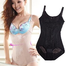 Wholesale Hot Shapers Full Body Shaper Corset Underwear Waist Training Corsets Bodysuit Women Girdles Body Shapers