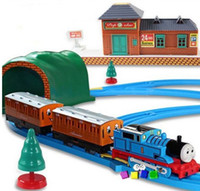 Wholesale Thomas And Friends Electric Thomas Trains Set With Rail For Children Kid Boy Model Toy