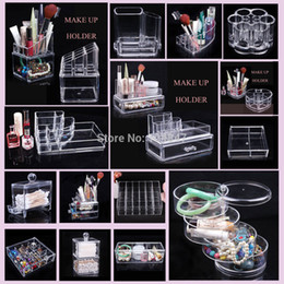 Wholesale Hot Seller Cosmetic Organizer Clear Luxury jewelry Acrylic Makeup Case Drawer Make up holder RA20