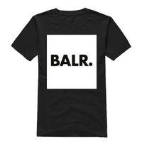 Wholesale mens t shirts fashion Summer style BALR men t shirt cotton short sleeved t shirt hiphop men shirt