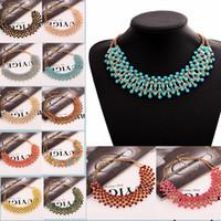 Wholesale new good women Z design fashion chain necklace bib collar choker Necklaces amp Pendants luxury statement jewelry women