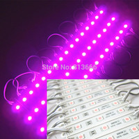 Wholesale x Super Bright PINK purple Color LED Module SMD LEDS Light Waterproof V DC