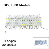 Wholesale LED module SMD Leds lamps waterproof DC12V bright white light strip modules WAC19
