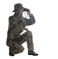 Wholesale Bionic Desert camouflage Hunting clothes Ghillie Suits W Gloves Cap Facemask