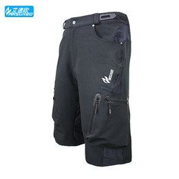Wholesale ARSUXEO Cycling Shorts Men Downhill MTB Shorts Mountain Bike Bicycle Shorts Wear Jersey Size M XXL
