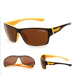 Wholesale-Newest 2015 Arnette GOLD ONE Sunglasses Sports Cycling Sunglass UV400 ARNETTE Sun Glasses For Men gafas oculos de sol masculino