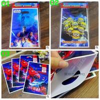 Cheap 3 color Star Wars gift bag minions big hero 6 gift bag birthday party Supplies Candy Bags Paper Handbag wrapping Bag Tote Bag