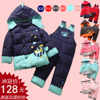 baby clothing shops - Free shopping Children s clothing baby down coat set baby down set years old child down coat