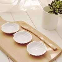 appetizer plates - quot Shell Sushi Soy Sauce Dipping Appetizer Dish Plate Set Holiday Decor