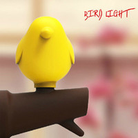 ac power technology - Smart Bird LED Light For home office Night Light Sensor technology V AC Power Wall Lamp EU plug White