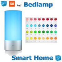 1700k-6500k unknown Corn Bulb Wholesale-Original Xiaomi Smart home Yeelight Bedlamp 16 million colors Osram leds Dream gift Touch control Phone control