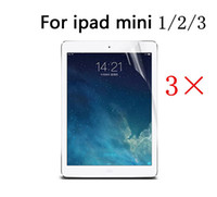 Wholesale Clear HD LCD High Quality Screen Protector Cover Guard Film For Apple iPad Mini Inch