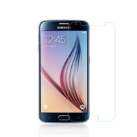 Wholesale Premium Tempered Glass Clear Screen Protector for Samsung Galaxy S6 Ultra Thin