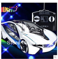 abs unique gift - handle remote control car ABS plastic i8 electric rc drift cars toys for children kid unique toy gift for New Year