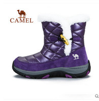 mauri shoes - Camel outdoor walking shoes Mauri warm autumn and winter female models high top walking boots Foot