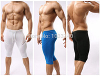 Wholesale B2221 Sportswear Fitness Swimwear For Men Running Tights Cycling Swimming Shorts Trunks Multifunctional Bodybuilding Pants