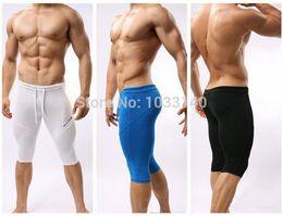 Wholesale B2221 Sportswear Fitness Swimwear For Men Running Tights Cycling Swimming Shorts Trunks Multifunctional Bodybuilding Pants