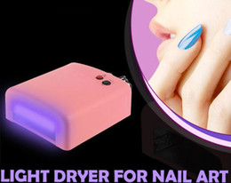 Wholesale-nails gel professional 36W LED Nail Dryer Curing Lamp Machine for Nail Gel Polish Art Tool light to EU PLug Nail lamp uv led