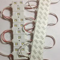 ad lens - led module string dc v Milky white PVC PC lens waterproof injection module light outdoor ad light module