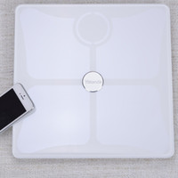 baby weighing scales - A generation of fat Yolanda intelligent body fat scale health scale electronic weighing scales baby Bluetooth said White