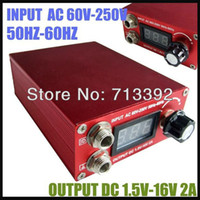 Cheap Wholesale-Professional Tattoo Equipment Digital LCD Display Tattoo Power Supply Free Shipping