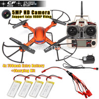plastic model kits - JJRC H12C Ghz Axis Gyro RC Quadcopter Drone MP HD Camera CF Model Automatic Return Take P Video Extra Battery Kit