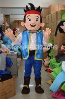 Wholesale Jake mascot costume mascot costume adult size Neverland Jake Jake mascot costume