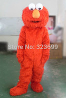 Wholesale Adult elmo mascot costumes for sale elmo adult clothes