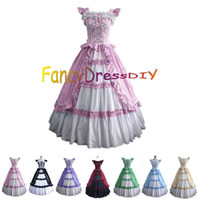 belle corset - Victorian Corset Gothic Dress Civil War Southern Belle Ball Gown Fancy Party Lolita Dress V089