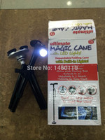 Cheap Wholesale-1 pcs Trusty Cane The Standing Folding Lighted - The Standing Folding Lighted Walking Cane new arrival