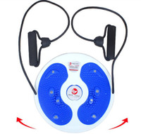 Wholesale NEW cm Indoor and office Sport Leg hip Waist Fitness Equipment for Twist Boards with rope amp Blue Orange