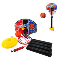 Cheap Wholesale-2015 HOT Toy baby basketball can lift baby basketball gas needle baby indoor toy