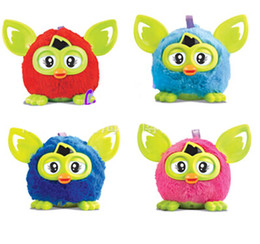 Wholesale Newest Firby Boom Plush Toy Talking Firbi Elves Recording Pelucia Electronic Toys For Kids Compatible with Furby