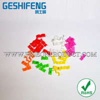 Wholesale mm colorful plastic open bird foot ring pigeon ring