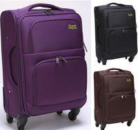 Wholesale Brands travel suitcase large capacity ultra light rolling luggage men women Travel Bags password lock