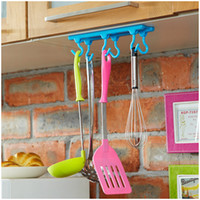 abs kitchen cabinet - Candy Color High Quality ABS Plastic Kg Powerful Wall Cabinet Adhesive Stickers Hooks For Kitchen Bathroom Living Room