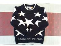 Wholesale Promotion not ball O Neck Black Boy Girl Children Baby Clothing Full Cotton Cardigans Sweater Coat Garment