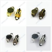 clip earring pads - pcs10mm Clip On Earrings Findings Pad For Gluing Colors AE00410