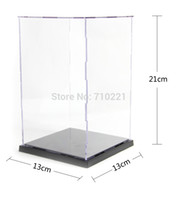 acrylic doll cases - Self Assembly Acrylic Plastic Display Box Showcase Protection x5 x8 quot Showcase Case Fit Doll Figure Translucent