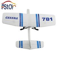 Cheap Wholesale-New RC Plane EPP Foamed CESSNA plane 2ch Remote Control glider airplane aerodone RC mini soaring aeroplane toy