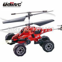 aircraft ground - CH Remote control aircraft Air ground amphibious helicopter fighter toy gifts Creative design