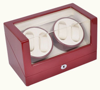 Wholesale Superior Quality Ultra quiet red colors Motor Watch Winder for Automatic Mechanical Watch Capacity for Watch