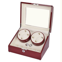 Wholesale lowest price top quality red colors automatic watch winder for self winder watches