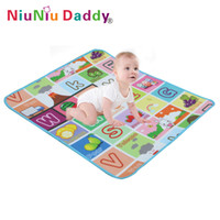 Wholesale Baby play mat cm baby educational products multicolor baby learning toy soft blanket new arrival hot sale