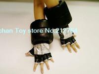 Wholesale Anime Cartoon Soul eater Black Star cosplay Gloves Pure handmade